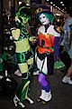 Cosplay Duela Dent and some Green Girls.jpg