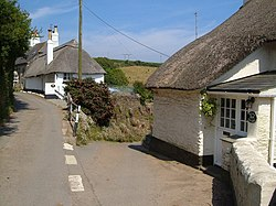 Cottages at South Milton - geograph.org.uk - 188505.jpg