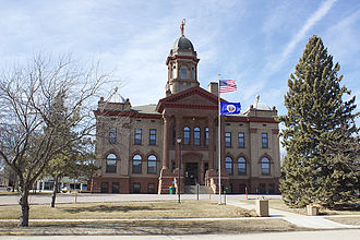 Cottonwood County, Minnesota - Image: Cottonwood County Courthouse