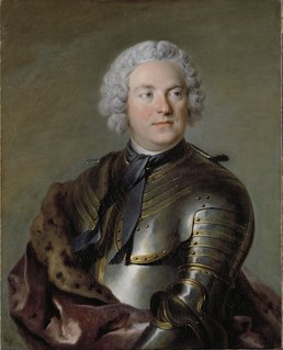 Carl Gustaf Tessin Swedish count, politician and art collector