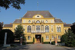 Nyíregyháza - County Hall, Nyíregyháza by Ignác Alpár