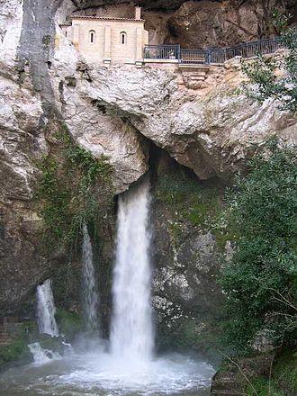 Santa Cueva de Covadonga - The Holy Cave of Covadonga
