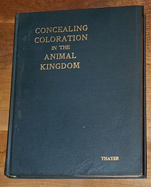 Cover of Concealing-Coloration in the Animal Kingdom by Thayer.JPG