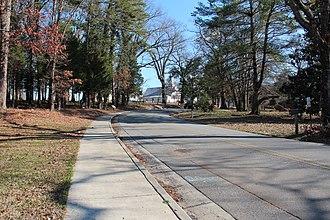 Euharlee, Georgia - Covered Bridge Road