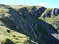 Crags under east ridge of Sgurr Breac - geograph.org.uk - 241838.jpg