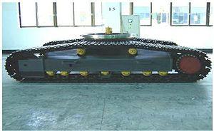 Crawler excavator - Crawler chassis
