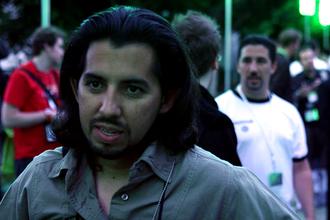 Brian Crecente - Crecente at the 2007 Electronic Entertainment Expo