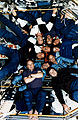 Crewmembers of STS-71, Mir-18 and Mir-19 Pose for Inflight Picture - GPN-2002-000061.jpg