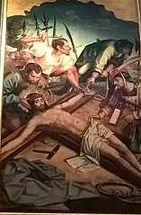 Christ to be nailed to the cross