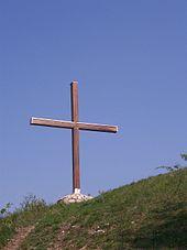 La Croce sul Monte Bastia.