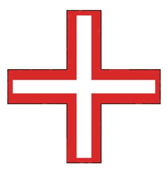 Knights of Saint Thomas - Image: Cross saint thomas 1236