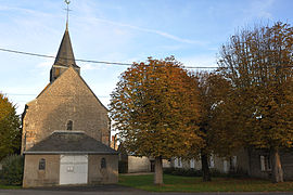 The church in Crottes-en-Pithiverais