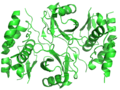 Crystal Structure of the HIV Vif BC-box in Complex with Human ElonginB and ElonginC.png