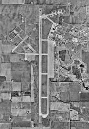 Clinton-Sherman Air Force Base - USGS 1995 Aerial Photo