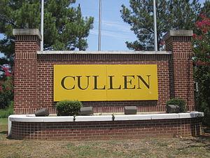 Cullen, Louisiana - Image: Cullen, LA sign IMG 5133