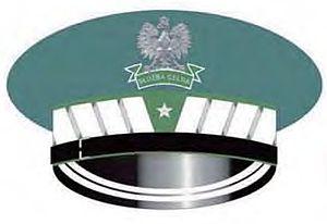 Customs Service (Poland) - Visor cap with the rank insignia of a Nadinspektor celny.