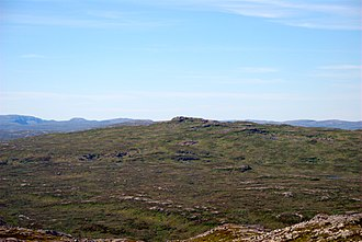 Roan, Norway - View of the highest point in Roan municipality