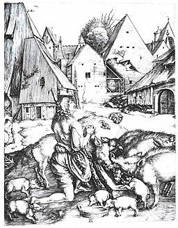 Dürer - Der verlorene Sohn