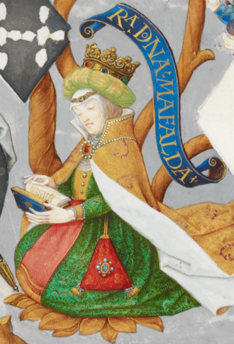 Matilda of Savoy, Queen of Portugal - Matilda in Genealogy of the Kings of Portugal (António de Holanda, 1530–1534)