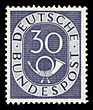 DBP 1951 132 Posthorn.jpg