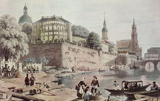 DD-Brühlsche Terrasse 1850