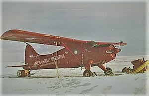 Marambio Base - Argentine Air Force DHC-2 Beaver in Antarctica