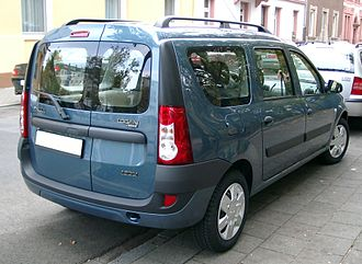 Station wagon - Station wagon Renault/Dacia Logan MCV 1.5 DCI with dual side-hinged tailgate