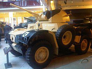 Birmingham Small Arms Company - Daimler armoured car