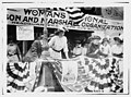 Daisy Harriman addresses a Democratic rally in Union Square, New York City LCCN2014692800.jpg