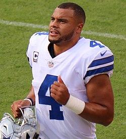 5b567b4bdbd Prescott with the Dallas Cowboys in 2017