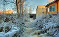 Dam in winter - panoramio.jpg