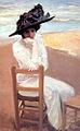 Dama en la playa (Cecilio Plá).jpg