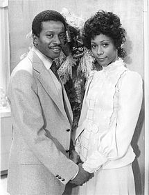 Jenni con l'ex-marito Lionel (Damon Evans)