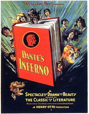Dante's Inferno (1924 film) - Theatrical poster.
