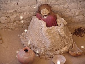 Nazca culture - Nazca burial place