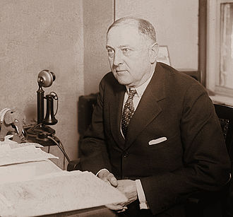 Harry M. Daugherty - Attorney General Harry M. Daugherty in his office.