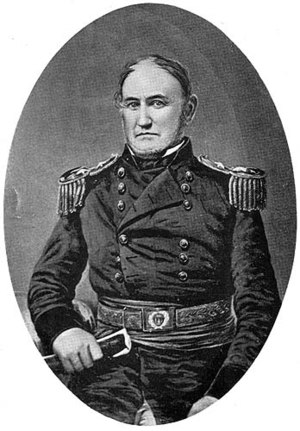 Chinstrap beard - General David Twiggs during the time of the Mexican-American War