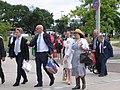 Deelnemers verlaten het 'Liefde faalt nooit!'-congres van Jehovah's Getuigen, Utrecht, 2 augustus 2019 - 2.jpg