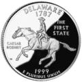 Delaware quarter, reverse side, 1999.png