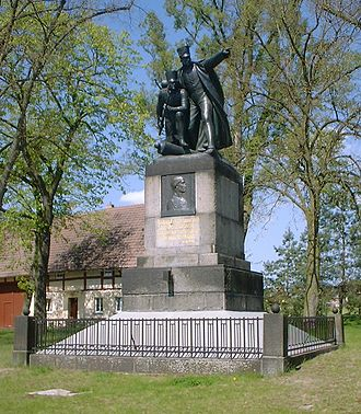 Battle of Dennewitz - Bülow memorial