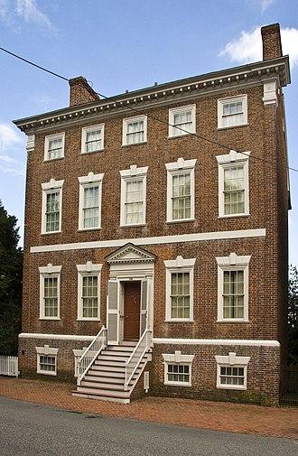 Denton House (Maryland) - Image: Denton House, Chestertown, MD