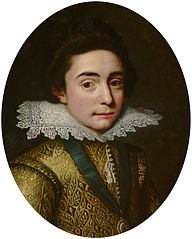 Portrait of Frederick V, Elector Palatine