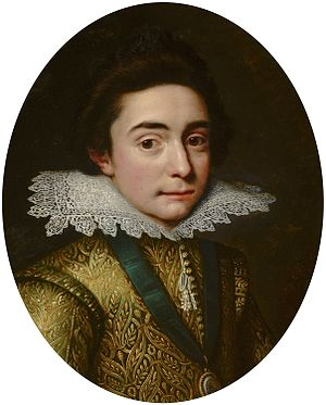 Frederick V of the Palatinate - Portrait of Frederick by Michiel Jansz. van Mierevelt, 1613.