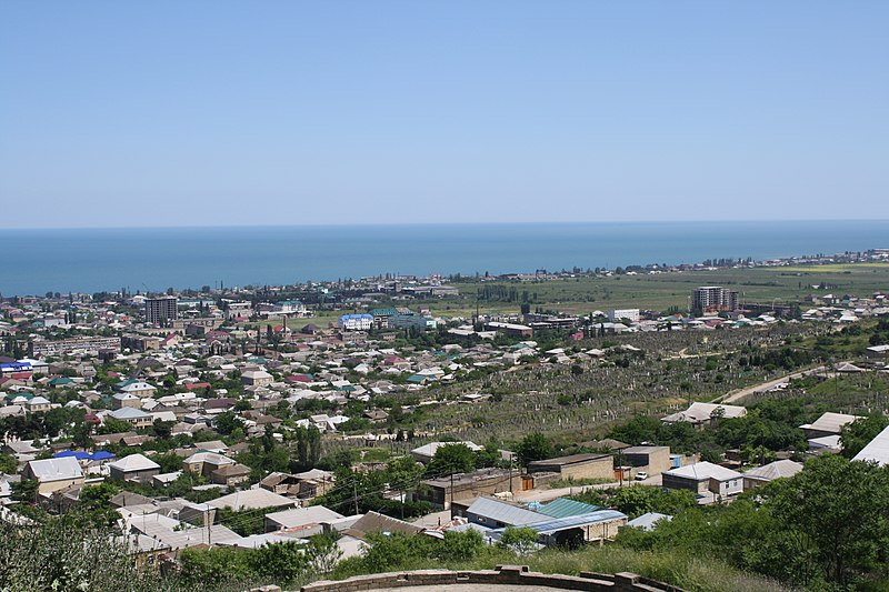 File:Derbent panoramic view. Dagestan. Russia. Панорама Дербента. Дагестан. Россия - panoramio.jpg