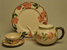 Vintage Franciscan Teapot Ivy II Made in England