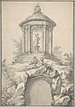 Design for Festival Architecture for an Entry into Paris for the King of Sweden, Frederick I of Hesse MET DP808400.jpg