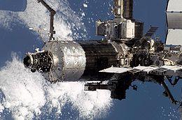 Destiny collegato alla ISS