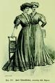 Die Frau als Hausärztin (1911) 125 Zwei Salonkleider.png