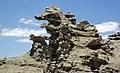 Differentially cemented & eroded sandstone (member C, Uinta Formation, Eocene; Fantasy Canyon, Utah, USA) 7 (24844505905).jpg