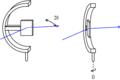 Diffractometre montage omega transmission.png